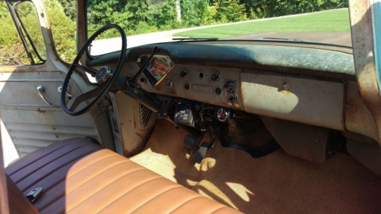 57 Chevy 3100 Patina LS LM7