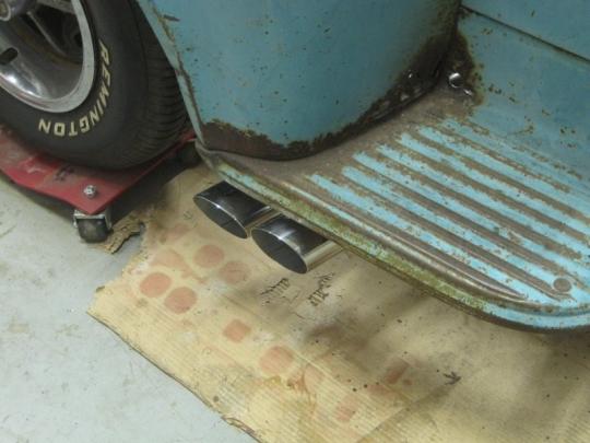 1957 3100 LS LM7 Exhaust