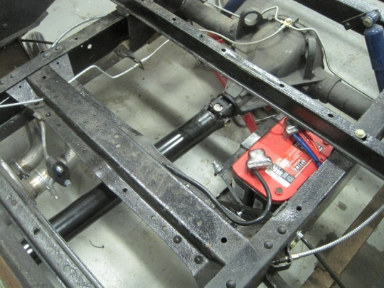 1957 3100 Remote Battery