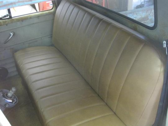 1957 3100 Interior