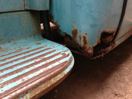 57 Chevy 3100 Patina