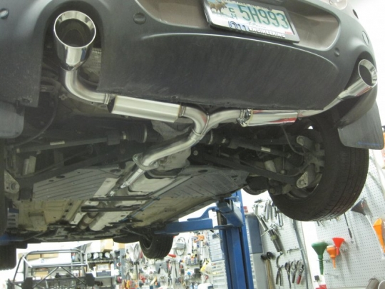 2013 Mini Paceman S All4 NM Exhaust