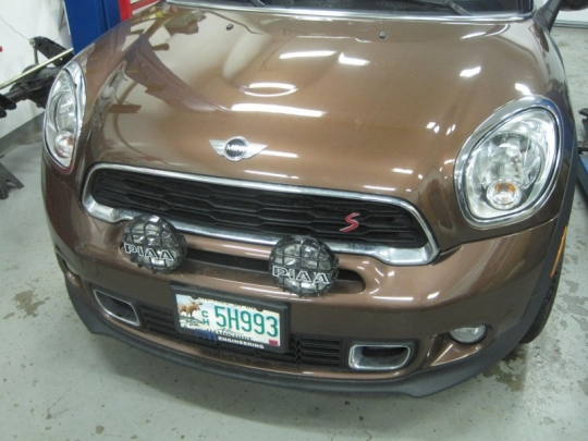 2013 Mini Paceman S All4 PIAA Driving Lights